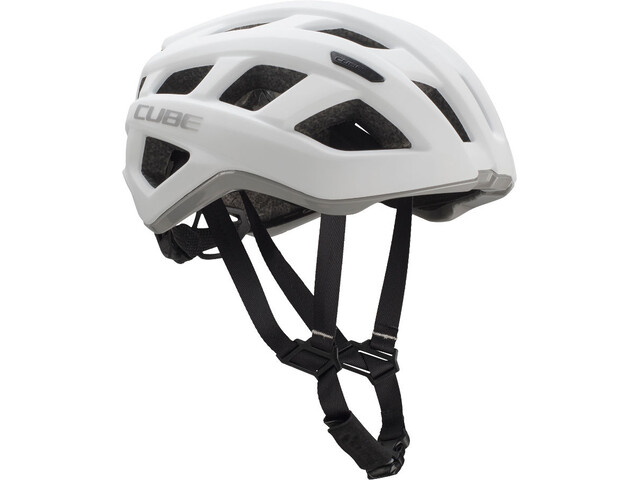 Cube Roadrace - Casco de bicicleta - gris/blanco